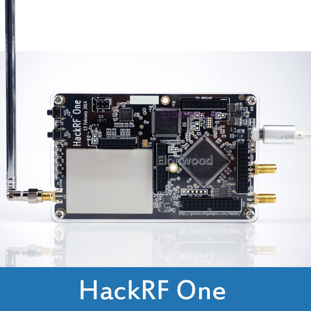HackRF One 1MHz To 6GHz   Software Defined Radio Platform Development Board RTL SDR Demo Board  Kit Dongle Receiver Ham Radio