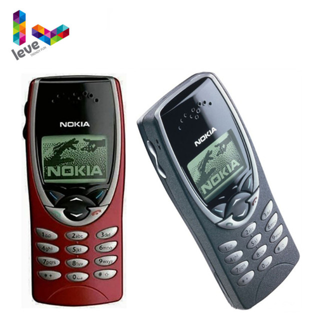 Nokia 8210 Unlocked Phone GSM 900/1800 Support Multi-Language Used and Refurbished Cell Phone Free Shipping