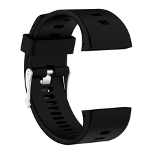 цена на Practical Watch Band Strap Pin Buckled For Polar V800 Sport Watches Durable Silicone Adjustable Replacement Wristwatch Bands