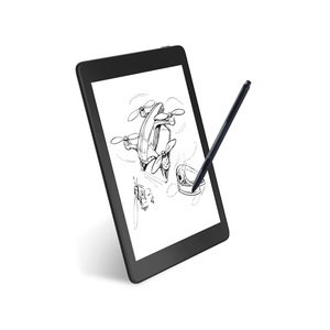Image 4 - Send From India likebook Ares note 7.8 inch Ebook Reader 2G/32GB 8 Core Bezel Design Ereader Support SD card to 128GB With Case