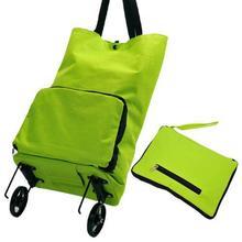 Практичный продуктовая тележка бытовой Чемодан сумка для покупок на колесах складной буксировочное судно в корзину настраиваемые, с логотипом