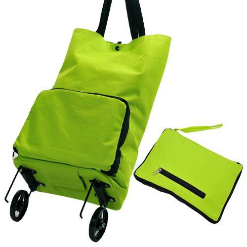 Practical Folding Shopping Cart Household Luggage Trolley Shopping Bag Folding Tugboat Shopping Cart Customizable Logo