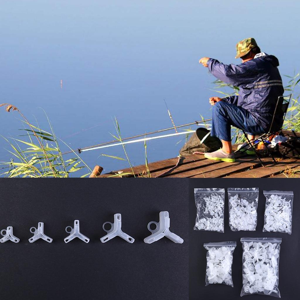60pcs Foam Fishing Treble Hoos Cover 3 Sizes Protector Crankbait Lure Cap Bonnet
