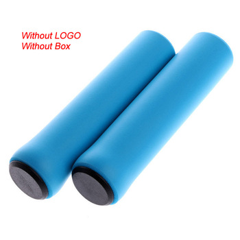 2PCS Silicone Cycling Bicycle Grips Mountain Road Bike MTB Handlebar Cover Grips Bicycle Accessories Anti-slip Bike Grip Cover 11