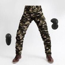Мужские и wo Мужские штаны, мотоциклетные брюки, камуфляжные армейские зеленые армейские с подкладкой, анти-осенние, высокоэластичные