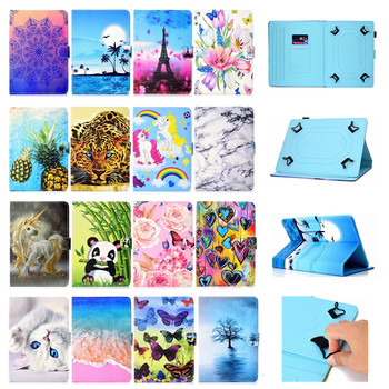 For DEXP Ursus K11 P410 E110 VA110 VA210 N110 P110 P210 A310 GX210 TS210 TS310 Z210 3G 10.1 inch Tablet Universal Case + Pen image