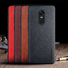 Caso para Xiaomi Redmi Note 4 4X Global funda de couro de LUXO Do Vintage pele Capa tampa Do Telefone para xiaomi redmi note 4 4x caso coque