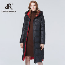 Diaosnowly 2020 new long thick jackets for women winter hooded fashion winter outwear coats for women warm long parka fashion winter clothes women long winter brand thick jacket and coat women winter hooded parka(China)