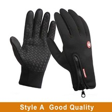 Snowboard Gloves Touch-Screen-Gloves Riding Motorcycle Winter Waterproof