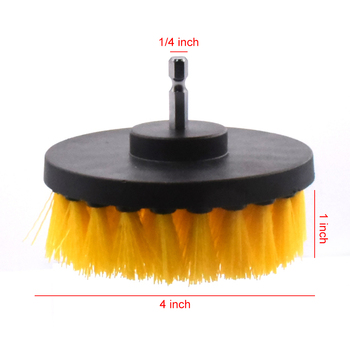 3pcs Power Scrubber Brush kit For Bathroom Cleaning Drill Scrubber Cordless Attachment Kit Power Scrub Tubs Baseboards Scourer недорого