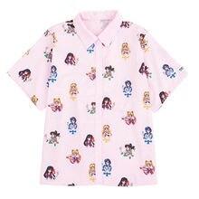 Camiseta de Sailor Moon Rosa para Cosplay, camisa de manga Corta de Anime Harajuku, para mujer, Vestiti, veglio Kawaii, Magliette, 2019