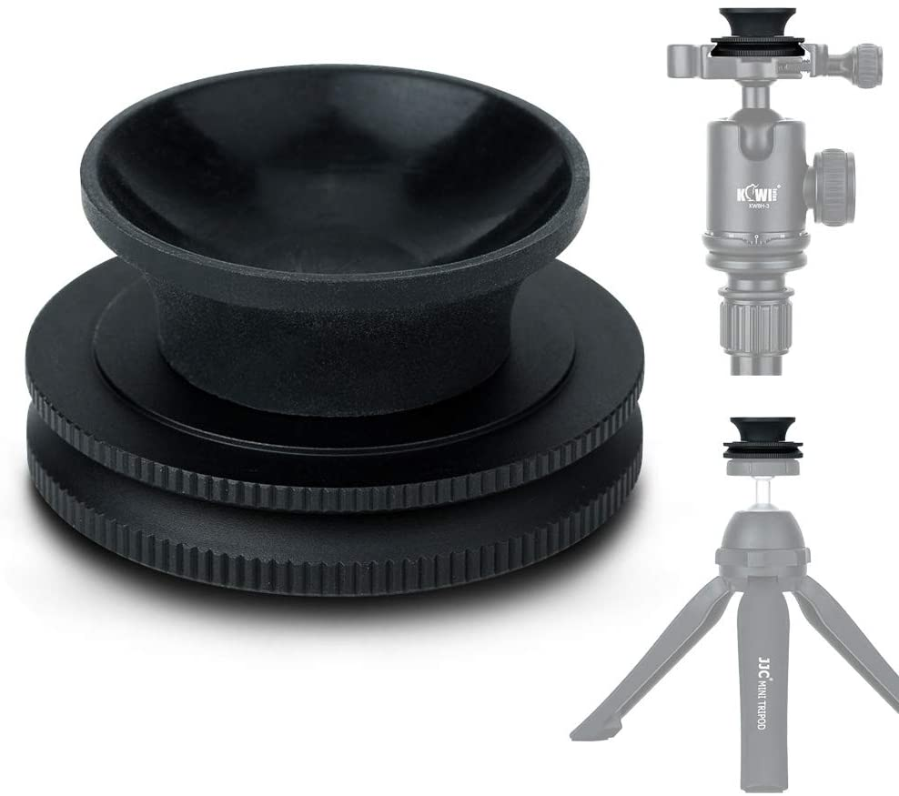 Crystal Lens Ball Stand For 50mm-100mm Diameter Glass Sphere, Suction Mount 1/4