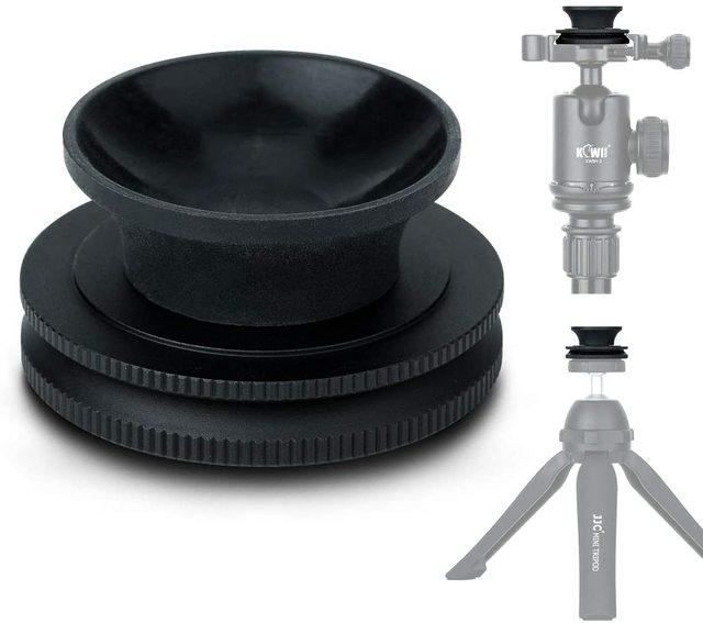 """Kiwi Crystal Ball Stand Kenmerken 1/4 """" 20 Vrouwelijke Draad & Arca Swiss Type Plaat Voor Lens Crystal Ballen van 50 100 Mm Diameter Bereik"""