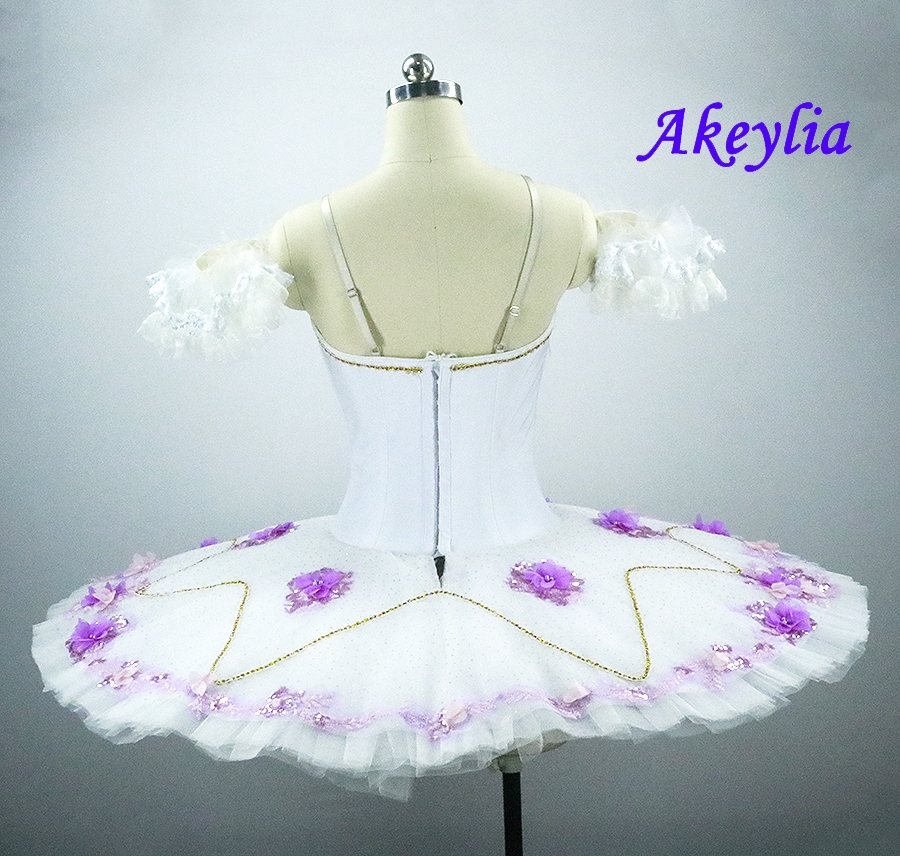 Adult Professional Ballet Tutu white sleeping beauty Tutu Dresses Sugar plum fairy Girl Ballet Competition Costume For Sale