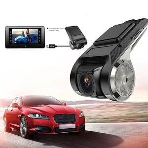 Image 1 - 1080P ADAS USB WIFI Mini DVR Kamera Registrator Dash Cam Nachtsicht Digital Video Recorder für Android Auto Navigation HD WIFI