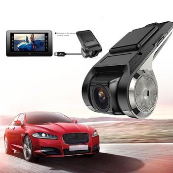 1080P ADAS USB WIFI miniaturowa kamera DVR rejestrator kamera na deskę rozdzielczą noktowizor cyfrowy rejestrator wideo dla androida nawigacja samochodowa HD WIFI tanie i dobre opinie Audew CN (pochodzenie) JR5680 Przenośny rejestrator Klasa 10 170 ° Samochód dvr G-sensor Detekcja ruchu Cykl nagrywania