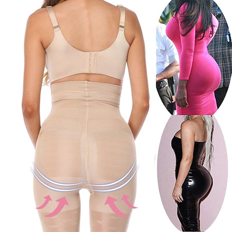 Plus Size S 3XL Firm Tummy Control Panties Women Body Shaper High Waist Trainer Slimming Control Briefs Shapewear Modeling Strap in Control Panties from Underwear Sleepwears