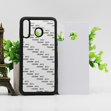 5PCS For Samsung A10E A20E M10 M20 M30 A40 A50 A60 A70 Blank Silicone TPU+PC Sublimation print Case with Aluminum Inserts
