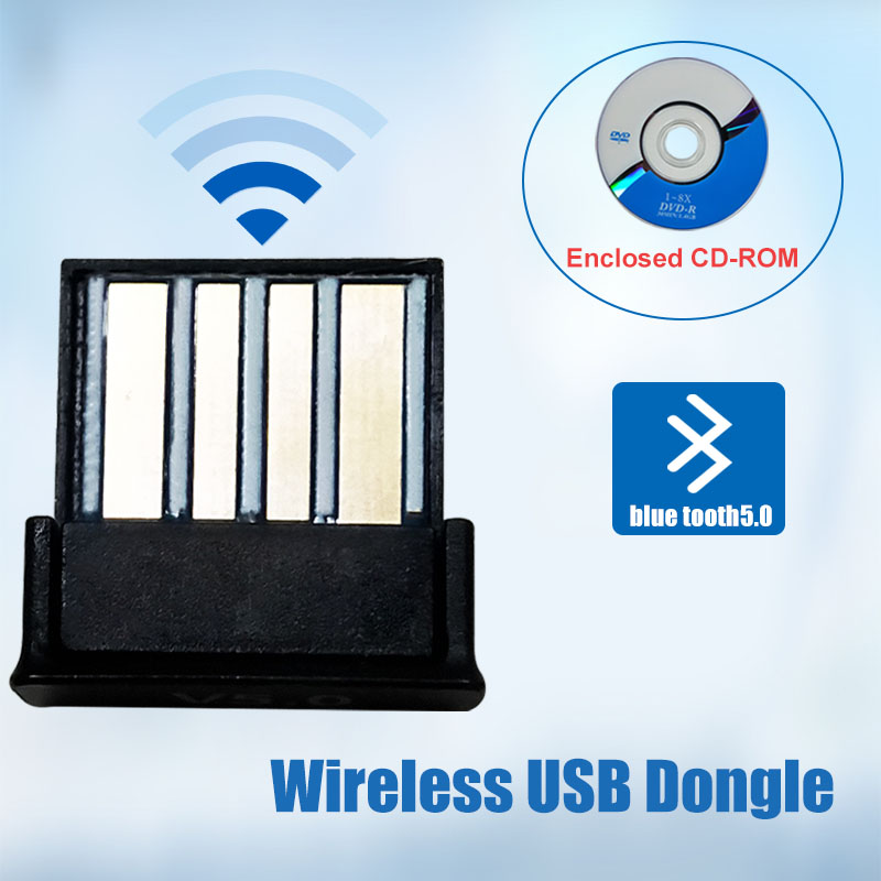 Bluetooth Usb Adapter Dongle 5.0 Computer Pc Headphones For Speaker Car Fone Audio Receiver Transmiter Tv Adaptador 3.5mm Mouse