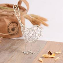 1pc INS Metal Craft Iron Wire Bird Animal Model Ornament Home Garden Decoration Gift Desk Table Decor Easy Use Portable Useful