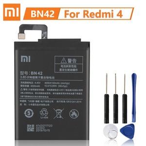 Image 3 - XiaoMi Batería de repuesto Original, BN30 BN42 BN40 BM47 para Xiaomi Redmi 4A Redmi 4 Pro Redmi 3 3S 3X 4X Redmi 3 Pro