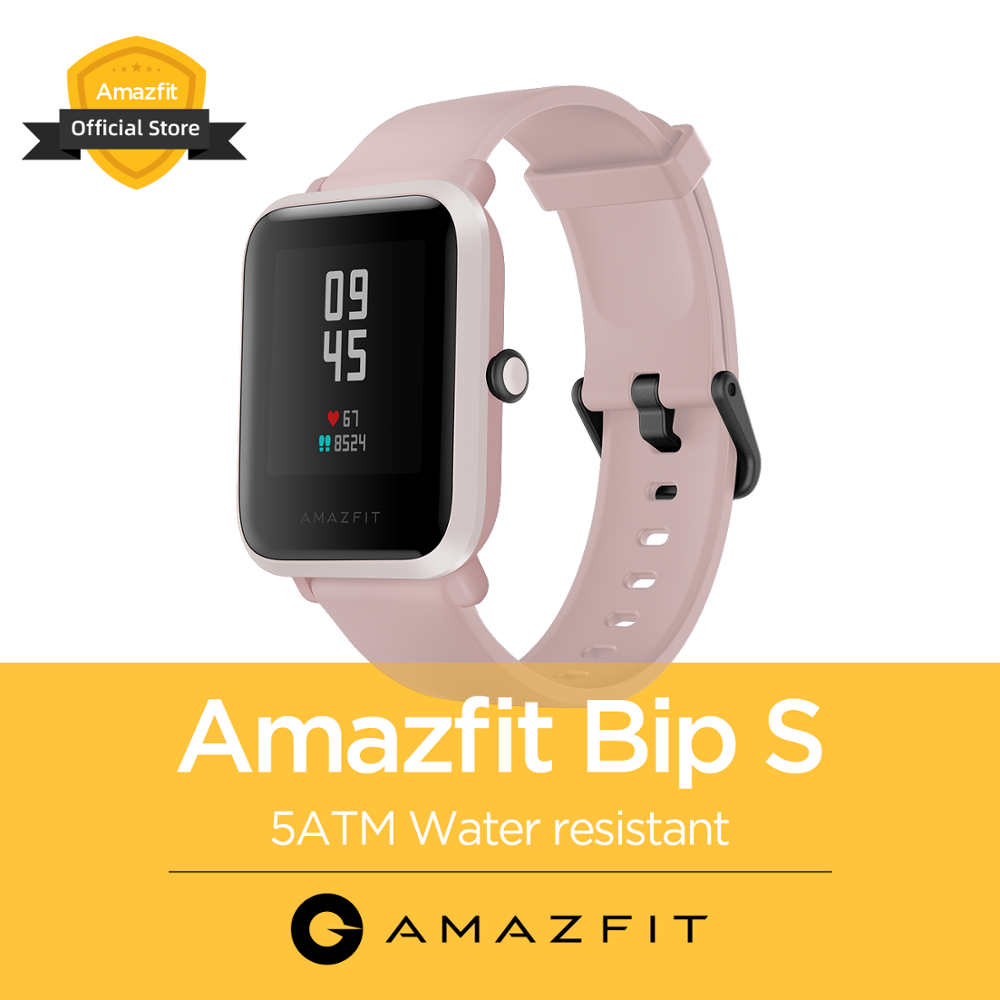 Original NEW Global Amazfit Bip S 5ATM Smartwatch Multi Sports Modes Bluetooth Smart Watch For Android IOS Phone