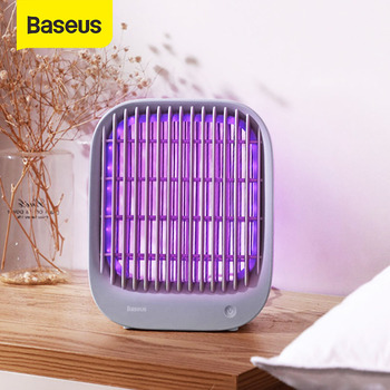 Baseus Mosquito Killer Lamp Electric Repellent Household UV Light LED Electric Shock Anti Mosquito Insect Killer Bug Zapper