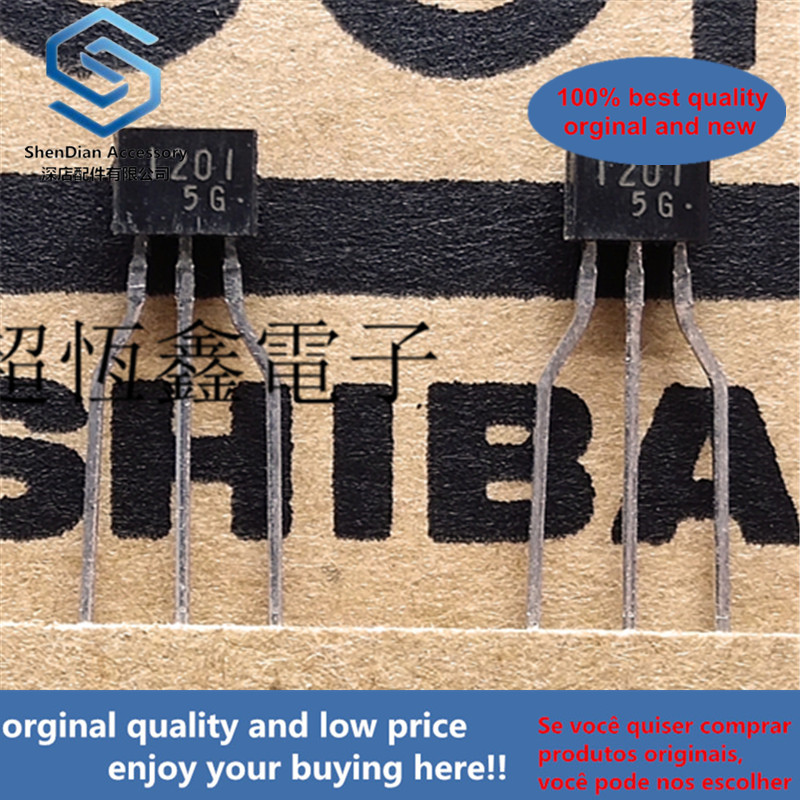 10pcs 100% Orginal New RN1201 1201 Transistor Silicon NPN Epitaxial Type (PCT Process) Real Photo