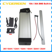Battery-Pack 10AH Lithium Charger Bicycle Electric-Bike Silver 20AH 18650-Bateria 15AH