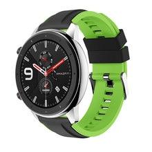 цена Silicone Band For Xiaomi Huami Amazfit GTR 47MM 42MM Smart Wristband Men Women Sport Straps For Amazfit Stratos 2 2S онлайн в 2017 году