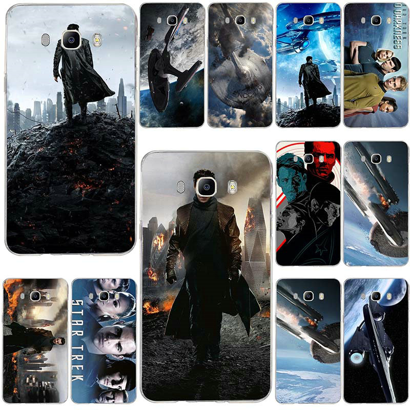Soft Silicone TPU Phone Cases For Samsung Galaxy J8 J7 J6 J5 J4 J3 2016 A7 A5 A3 2017 2018 Cover Cases Star Trek Into Darkness image