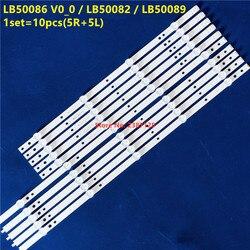 1 комплект = 10 шт. светодиодный лента для рН-губ 50 ''ТВ LB50086 V1_00 LB50086 V0_00 LB50089 LB50082 50PUS6162/12 50PUS7383/12 TPT500U1-QVN03.U