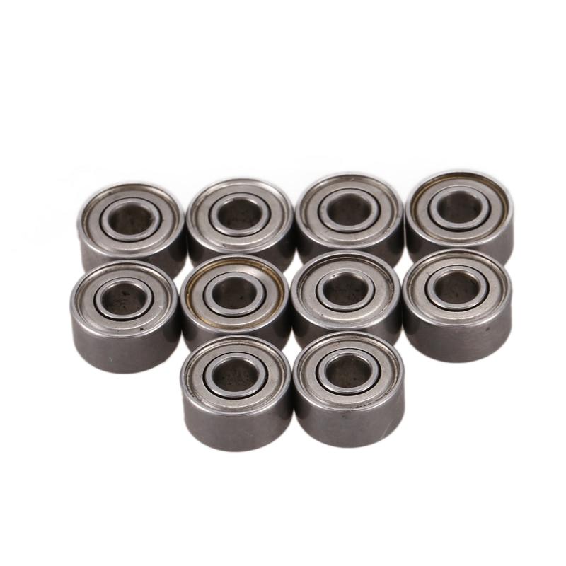 3x8x4 Mm Miniature Steel Bearing 693ZZSkateboard Deep Groove Ball Bearings Pack Of 10