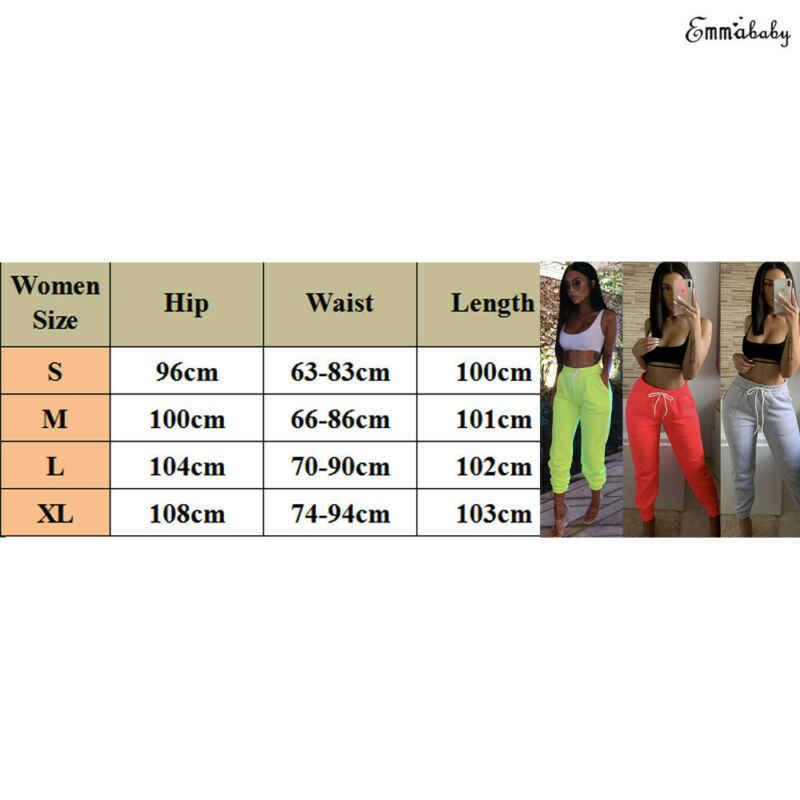 Damskie spodnie dresowe Goocheer z wysokim stanem sportowe spodnie do biegania elastyczne spodnie sportowe na siłownię Casual Ladies Girls ze ściąganym kapturem, długa spodnie do biegania