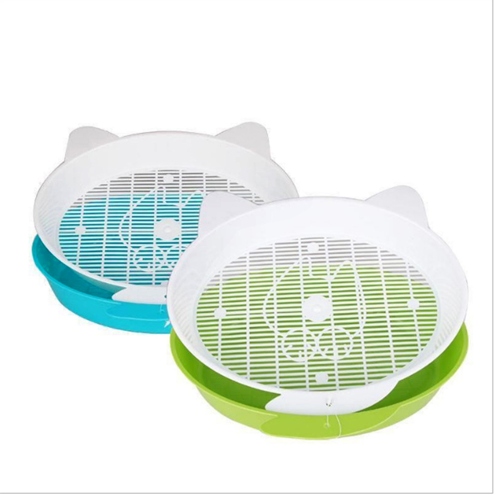 Cat Litter Box Splash Resistance Semi-Enclosed Deodorant Cat Toilet Pan with Shovel for Cats Small Dogs(China)