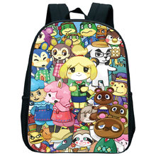 Школьный ранец с милыми животными для маленьких детей рюкзак
