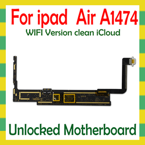 Image 2 - Original Unlock Mainboard For iPad 5 Air A1474  A1475 WLAN Cellular Version Motherboard 16G 32G 64G Logic Mother Board No iCloud