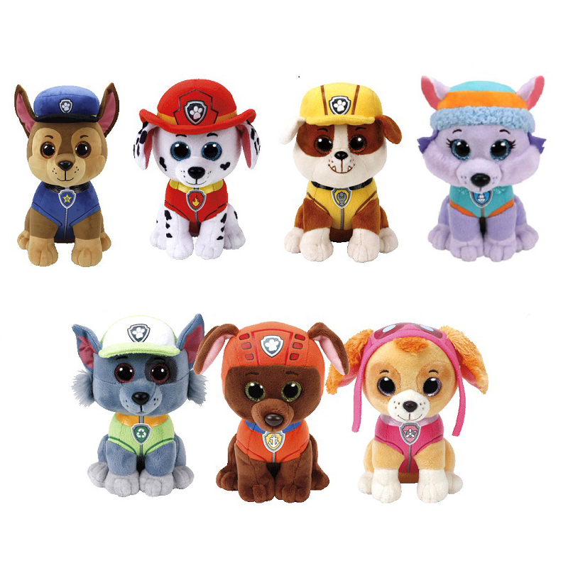 Paw Patrol Dog Plush Toy Puppy Patrol Filled Doll Skye Cartoon Character Action Figure Model Patrulha Canina Children Plush Toy