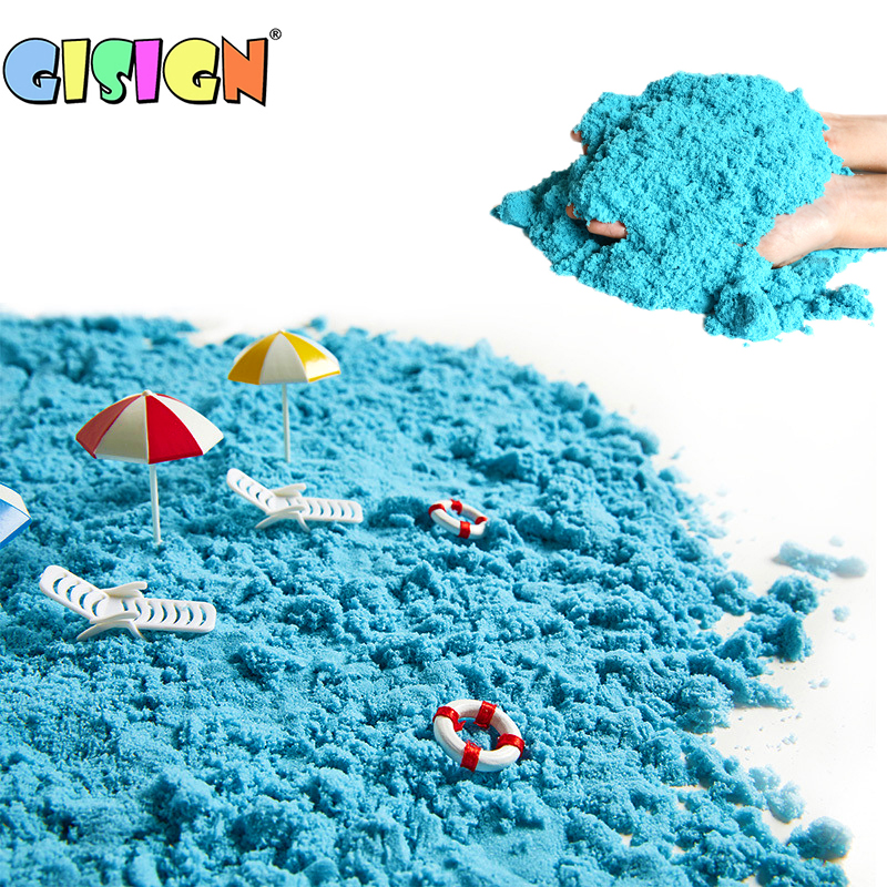 Magic Sand Toys For Children Educationa Colored Dynamic Sand Soft Modeling Clay Slime Indoor Play Kids Learning Toys