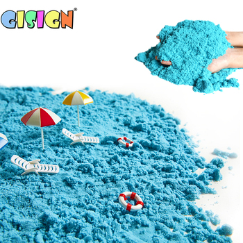 Magic Sand Toys For Children Educationa Colored Dynamic Sand Soft Modeling Clay Slime Indoor Play Kids Learning Toys 100g bag soft magic sand diy dynamic sand indoor playing toys for children modeling clay slime play learning educational