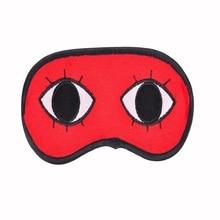 JYTOP Funny Gintama Travel Sleep Red Eye Mask Comic Visual Cosplay Okita Sougo Prince free shipping animation cartoon gintama sougo okita changeable face page 5 page 3