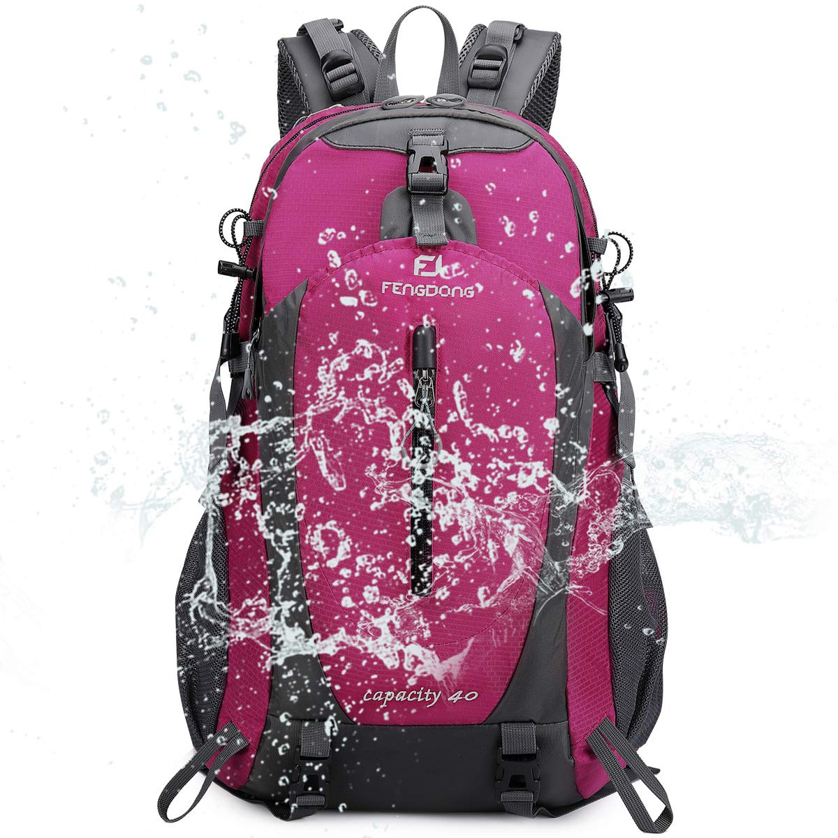 40L Waterproof Lightweight Hiking,Camping,Travel Backpack For Men Women