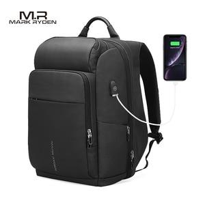 Image 2 - Mark Ryden Männer Rucksack Multifunktions USB Lade 15,6 inch Laptop Tasche Große Kapazität Wasserdichte Reisetaschen Für Männer