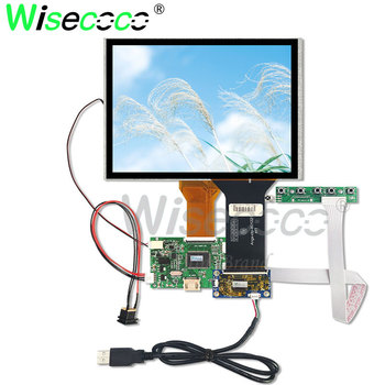 цена на 8 inch 800*600 touch screen with 50pin HDMI driver board for raspberry pi and DVD player AT080TN52 V.1