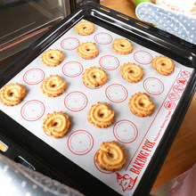 27.5*27.5cm Non-Stick Glass Fiber Silicone Baking Mat Oven Sheet Liner For Macaroon/Bread/Biscuits Kitchen Bakeware