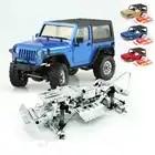 1/35 desmontado modelo mini controle remoto fora de estrada escalada carro kit para orlandoo huntera01 wrangler crawler peças diy - 1