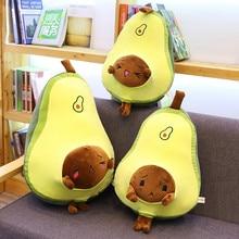 50/60 см мультфильм авокадо, плюшевые игрушки, мягкий авокадо Подушка Детские игрушки подарок на день рождения для детей; одежда для детей