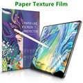 Kağıt gibi ekran koruyucu Film mat PET Anti parlama boyama Apple iPad 9.7 için Pro 10.5 mini 5 yüz kimliği 11 12.9 yeni 10.2 inç