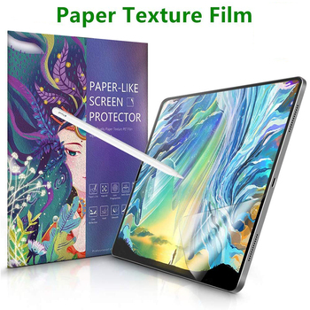 Paper Like Screen Protector Film Matte PET Anti Glare Painting For Apple iPad 9.7 Pro 10.5 mini 5 Face ID 11 12.9 New 10.2 inch 3pcs pack cheap good front matte protetive film for apple ipad 2 3 4 screen protector anti glare carton pack