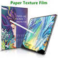 Papier comme Film protecteur d'écran mat PET Anti-éblouissement peinture pour Apple iPad 9.7 Pro 10.5 mini 5 visage ID 11 12.9 nouveau 10.2 pouces